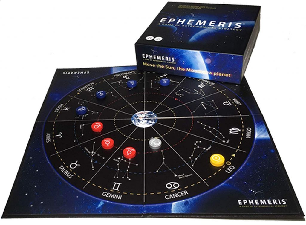 Ephemeris – A Game of Astronomical Strategy | an intriguing game